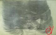 ΠΟΡΤΡΕΤΟ ΓΥΝΑΙΚΑΣ 17 — Με μολύβι και χαρτί (και επιδρομή υγρασίας)