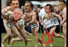 Τσίπρας και Τατσόπουλος ξεχύθηκαν στους δρόμους αποφασισμένοι να διεκδικήσουν την εξουσία….