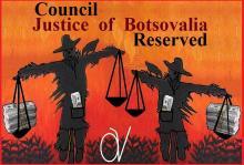 21-2-2012: Ημέρα ντροπής για τη δικαιοσύνη της μακρινής και ξωτικής Botsovalia