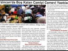 Τουρκία: Κάτοικοι χωριού, μετέτρεψαν το σουννιτικό Τζαμί σε αλεβιτικό Τζεμεβί (χώρο λατρείας)!!!