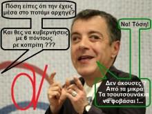 Αυτός είναι ο Σταύρος Θεοδωράκης. Πιο συστημική «ροή» για ένα…σιγανό ποταμάκι, δεν γίνεται…