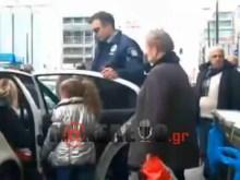 ΔΕΝ ΘΕΛΩ ΝΑ ΤΟ ΠΙΣΤΕΨΩ — Σύλληψη μικρού κοριτσιού για μη έκδοση εισιτηρίου!!!