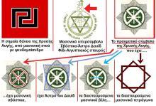 """Το πραγματικό """"σύμβολο"""" του ροδοσταυρίτη χρυσαυγίτη μασόνου Ν. Μιχαλολιάκου"""