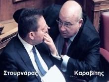 Στουρνάρας – Καραβίτης: Εγκλημα διαρκείας με διπλό ονοματεπώνυμο!!!