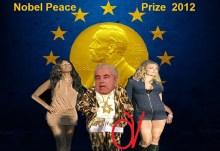 Κατά κράτος επικράτησε ο Χριστόφιας, στην απονομή του Nobel Peace 2012 ατην αιματοβαμμένη πόρνη ΕΕ….