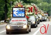 Δυστυχώς, τη κηδεία της END δεν τη πρόκανα. Ελπίζω ο Νίκος Γεωργαντζάς να με καλέσει έγκαιρα στο μνημόσυνο!!!
