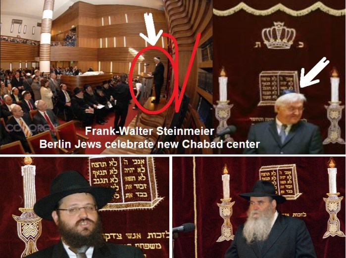 Frank-Walter Steinmeier -- Berlin Jews celebrate new Chabad center 1