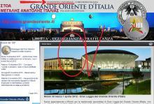 Η Μεγάλη Στοά Της Ανατολής, της Ιταλίας — Αφιερωμένη εξαιρετικά, στον αρχηγό φον Δημητράκη και σε κάθε Γαριβαλδίνο.-