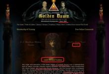 Hermetic Order of Golden Dawn — Ερμητικό Τάγμα της Χρυσής Αυγής (φωτογραφίες και βίντεο τίγκα στα σύμβολα)