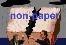 Η μάχη του non-paper — Τίνος είναι ρε γυναίκα το…. «χαρτί» ??? (υπονοούμενο, έεε???)