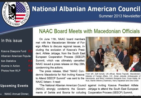 National Albanian American Council 1