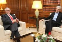 Συνάντηση πλαστικού Παπαδήμου με νάϋλον Μπουτάρη, για να τιμηθεί και να αξιοποιηθεί το πρόσφατο «ολοθαλάσσωμα» του Θερμαϊκού
