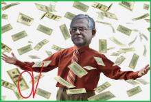 """Χατζάκηδες σκάστε…. Η πορδή του Πάγκαλου ζητά να κυκλοφορήσει ως νέο εθνικό νόμισμα με όνομα """"dolaroδραχμή"""" και σχολιάζω…."""
