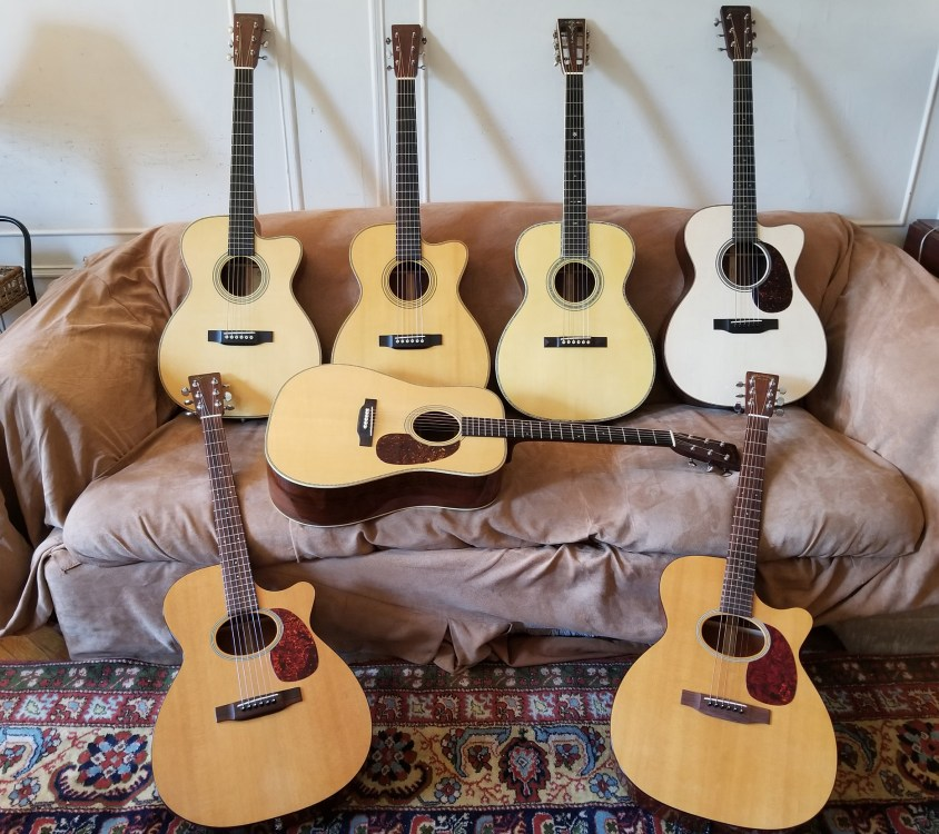 T Spoon Phillips Martin Guitar Collection
