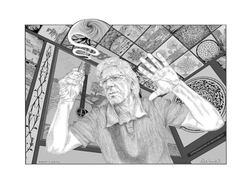 Dick Boak Self Portrait tspguitar.com