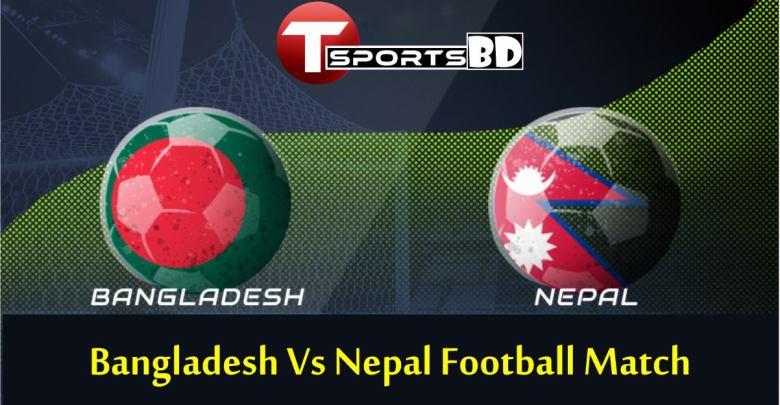 Bangladesh Vs Nepal Football