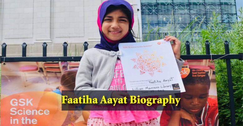 Faatiha Aayat Biography