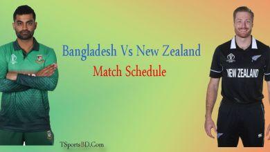 Match Schedule