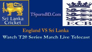 England & Sri Lanka T20 Live