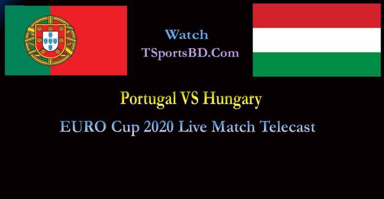 Hungary VS Portugal Live Match