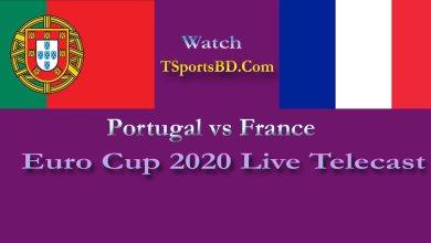 Portugal vs France Live