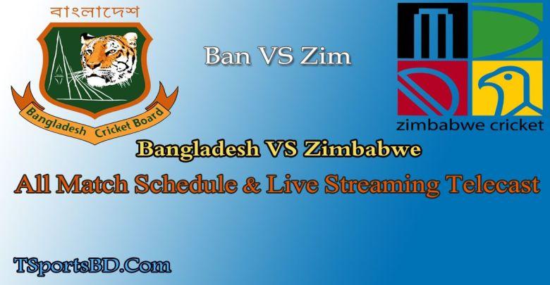 Bangladesh VS Zimbabwe Live