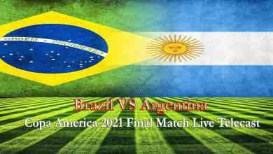 Brazil VS Argentina Live Match