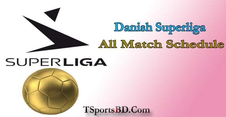 Danish Superliga Match Schedule