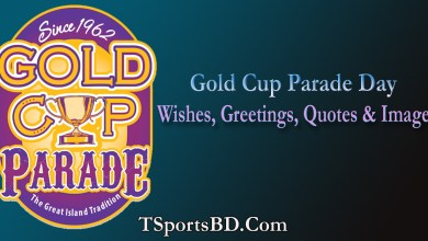 Gold Cup Parade Day