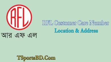 RFL Customer Care Service Number, Location & Address