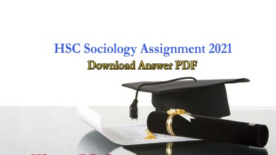 HSC Sociology Assignment Answer 2021 For 2nd & 3rd Week.