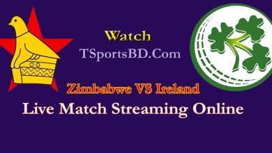 Zimbabwe VS Ireland Live Streaming 2021