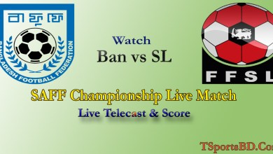 Bangladesh vs Sri Lanka Football Live