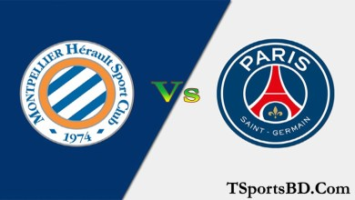 PSG vs Montpellier Live Streaming Online Match