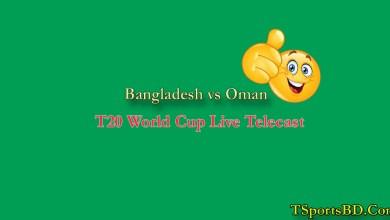 Bangladesh vs Oman Live