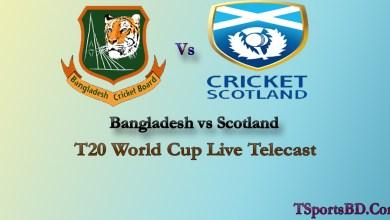 Bangladesh vs Scotland Live