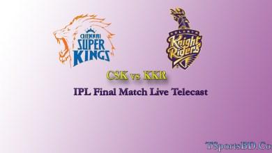IPL 2021 Final Match Live
