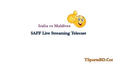 India vs Maldives SAFF Live