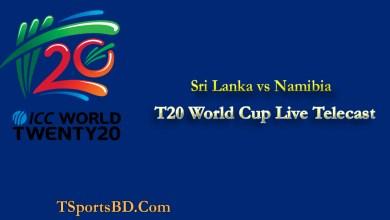 Namibia vs Sri Lanka Live