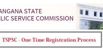 TSPSC-OneTime Registration System