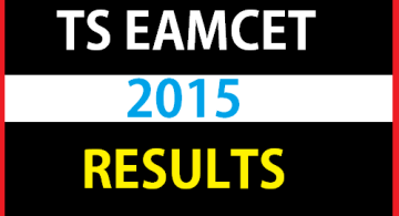 TS Eamcet 2015 Results - Website