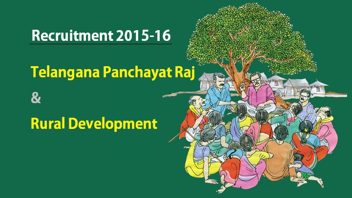 Telangana Panchayat Raj Recruitment Notification – Various Posts