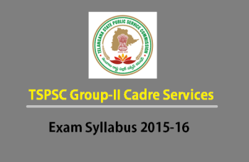 TSPSC Group2 Exam syllabus Portion 2015-16