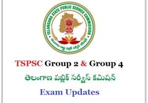 List of TSPSC Group2 Group4 Cadre Jobs