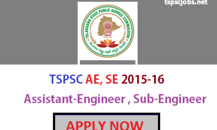 Official TSPSC AE Assistant Engineers Posts Notification 1058 jobs : Apply Now