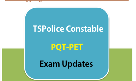 TSPolice Excise Constable Selection Procedure – Details