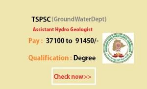 tspsc assistant hydrogeologist