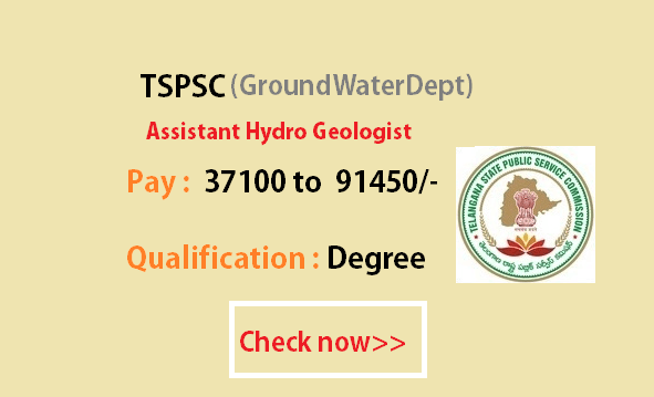 Assistant HydroGeologist Notification 2016 – Exam Syllabus