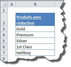 Réduire la complexité d'une formule SI avec une formule matricielle ou EQUIV