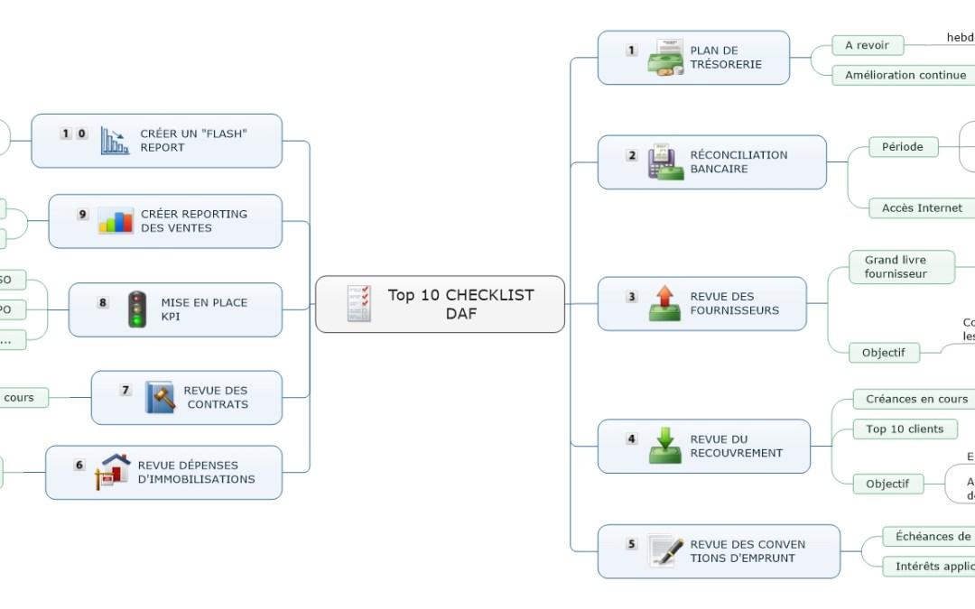 Le top 10 des tâches à faire lorsqu'on vient juste d'être embauché DAF!